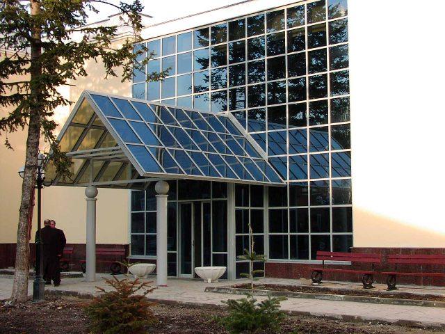 Автоматические двери стеклянные конструкции