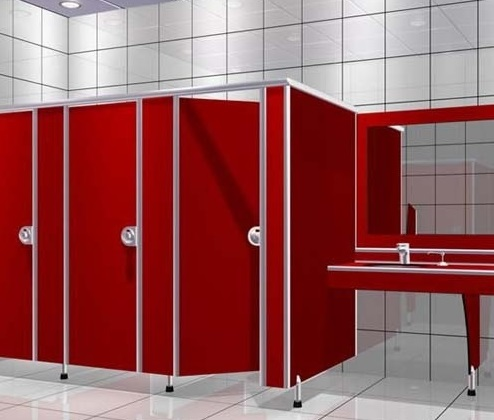 Изготовление кабинок для туалета
